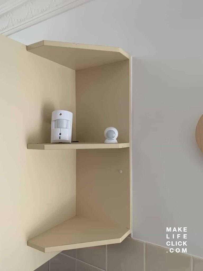 Both the Abode Motion Camera and Occupancy Sensor next to each other.
